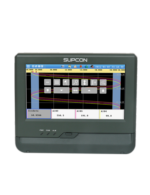 touch screen paperless recorder