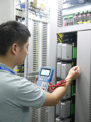 the application of maintenance of DCS modules
