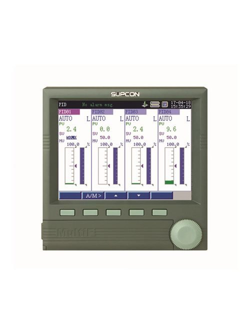 SUPCON 12 channel color disply paperless recorder